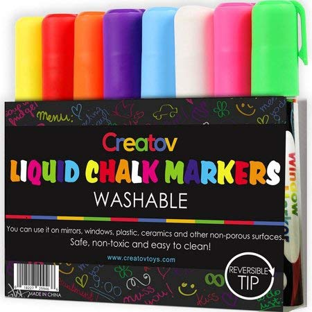 Erasable Liquid Chalk Window Markers 8 Pack Erasable Pens